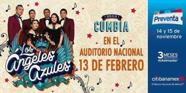 Los Ángeles Azules van por su séptimo Sold Out en el Auditorio Nacional