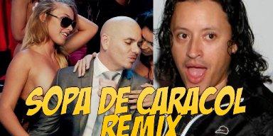 Estreno Mundial de Elvis Crespo Ft. Pitbull 'Sopa De Caracol