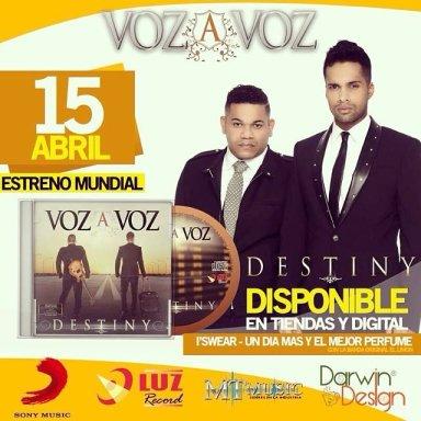 """Nuevo estreno musical de Voz a Voz presenta tema  """"Amor de Novelas"""""""