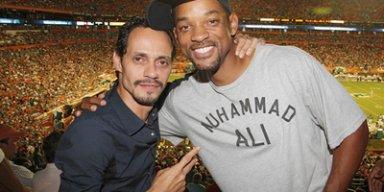 Marc Anthony y Will Smith se llevan muy bien