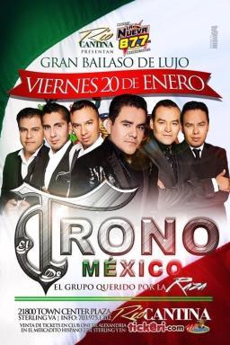El Trono de Mexico en concierto