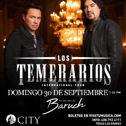 Los Temerarios – San Jose, CA