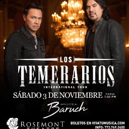 Los Temerarios – Rosemont Theatre