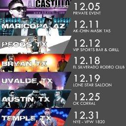 Aj Castillo Tour